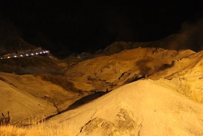 2014北海道旅行:登別温泉 地獄谷