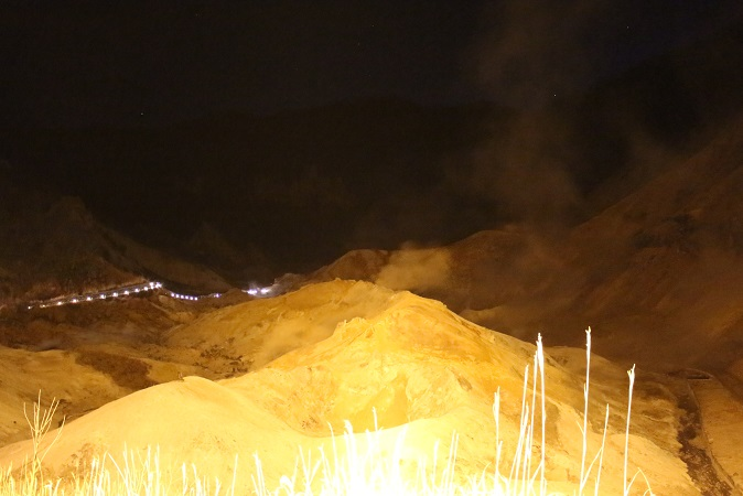 2014北海道旅行:登別温泉 地獄谷2