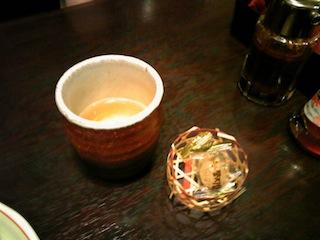 コーン茶とアメ