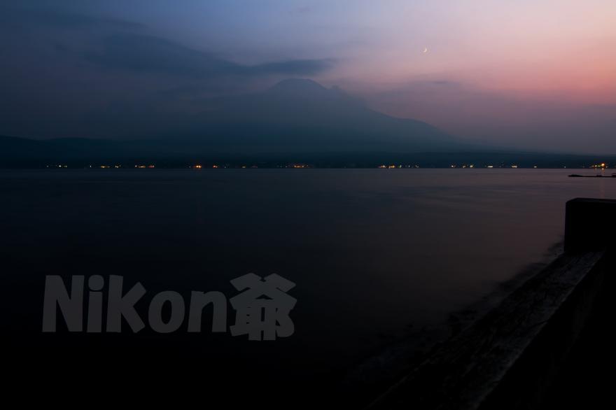 山中湖夕景 (26) S