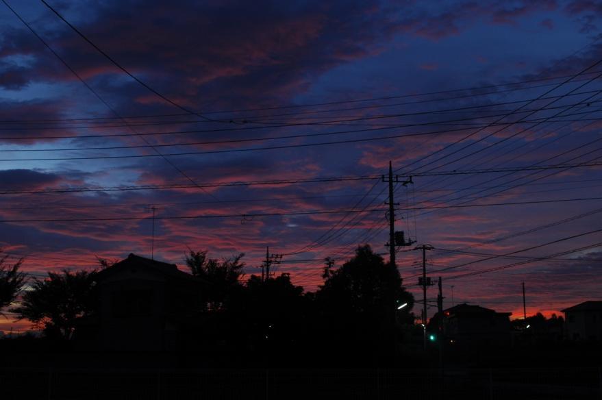 2013 10 09 朝焼けs2