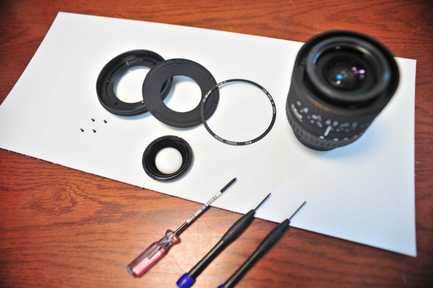 レンズ掃除 (1)