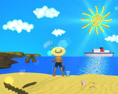 3DCG海は