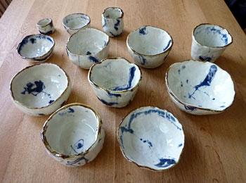 呉須茶碗の会完成
