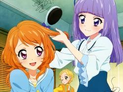 43_300219 aikatsu! autographed dress hikami_sumire oozora_akari shinjou_hinaki watanabe_satomi