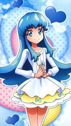 287682 happiness_charge_precure! pretty_cure satou_masayuki shirayuki_hime_(precure) stick_posteri_