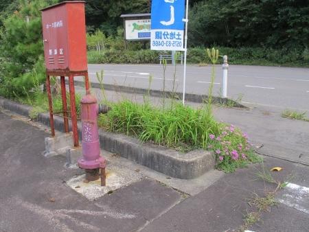 道の駅『白尾ふれあいパーク』 消火栓
