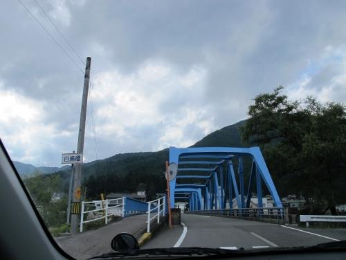 岐阜郡上 白鳥橋