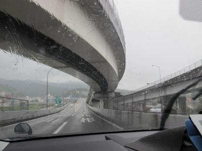 雨の帰宅路