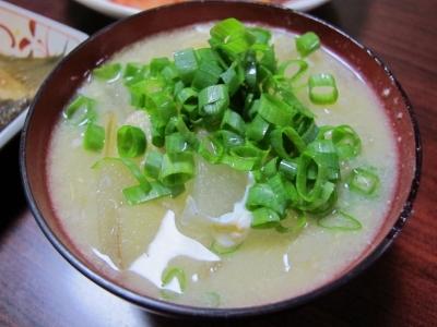冬瓜とカニの中華スープ