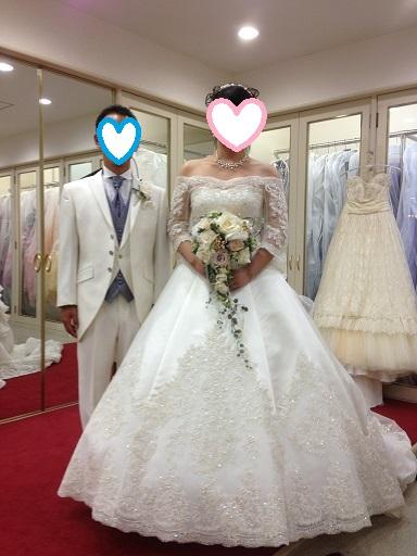 試着の花嫁