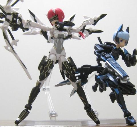武装神姫 フブキ弐型&ミズキ弐型