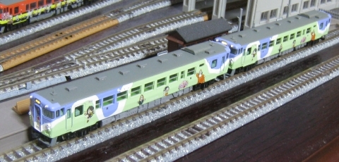 マイクロエース キハ40鬼太郎列車