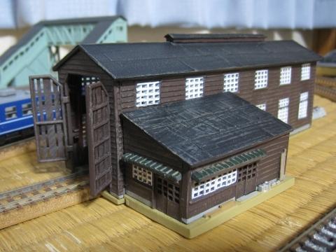 トミーテック 電車庫