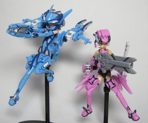 武装神姫 ラプティアス&アーティル