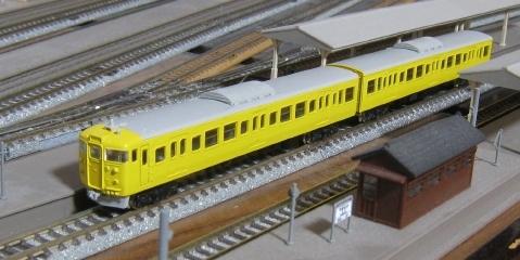 グリーンマックス 113(115)系 量産冷房車キット