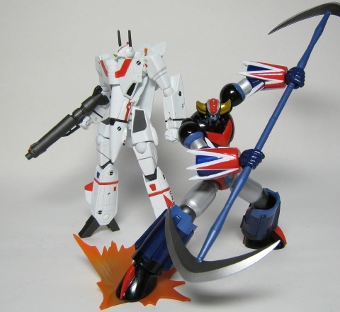 リボ グレンダイザー&VF-1J