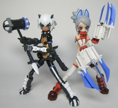 武装神姫 ガブリーヌ&蓮華