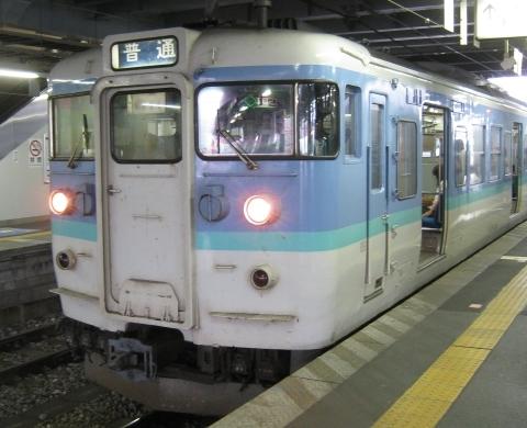 115系長野色 松本駅にて