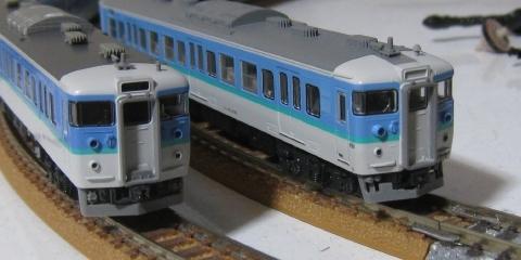 KATO&TOMIX 115系長野色