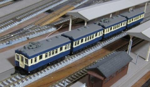 Bトレインショーティー 身延線4両編成 クモハ43系+クハ47系