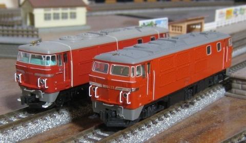 KATO DD54ブルートレイン牽引機