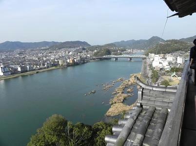 犬山城より木曽川