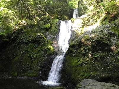 三つ釜の滝