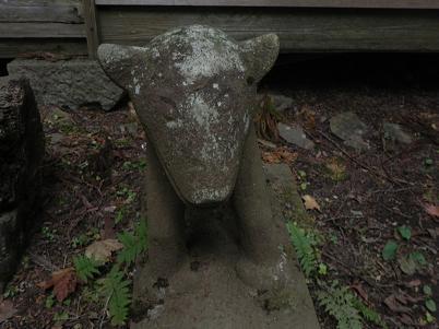 大岳神社の狛犬