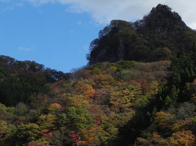 太陽寺入口付近の紅葉3