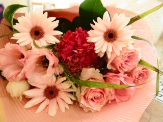 入籍記念日の花束