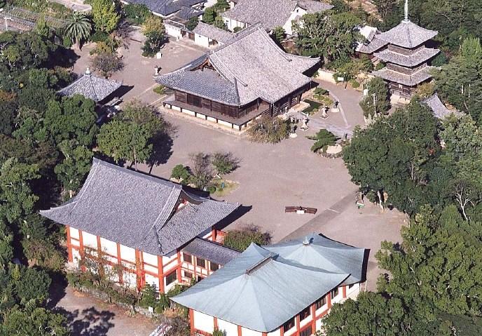 道成寺伽藍俯瞰