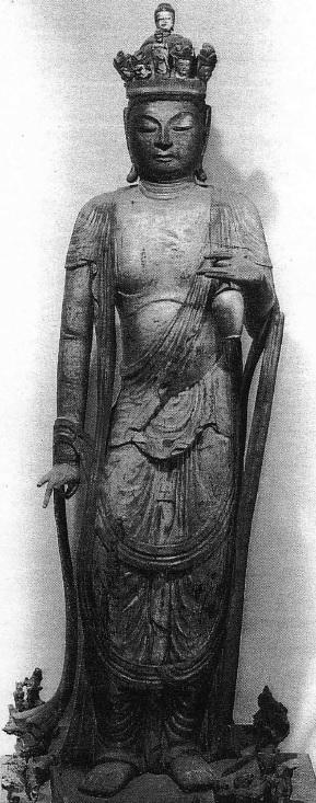 釈音寺・十一面観音立像