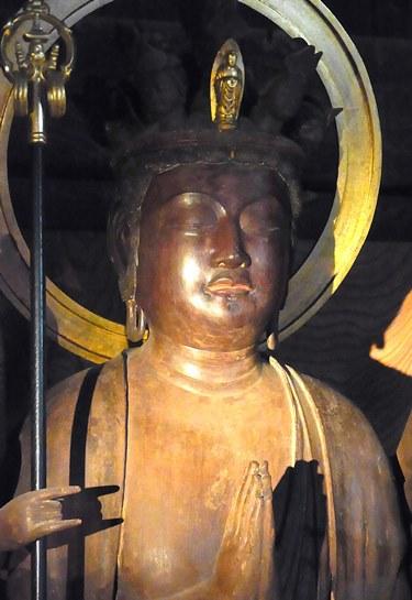 西明寺・本堂の仏像