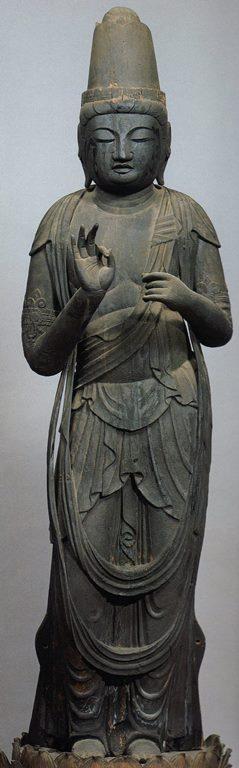 九品寺・聖観音立像