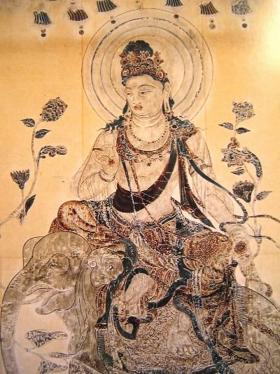 鈴木空如・法隆寺壁画模写