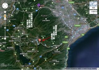 矢倉沢・底倉の位置