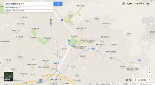 新しいGoogleマップでの表示(地図)