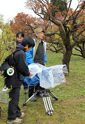 県内で実景撮影 映画「春を背負って」