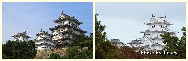 姫路城ビフォーアフター