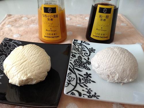 カッテージチーズ2種