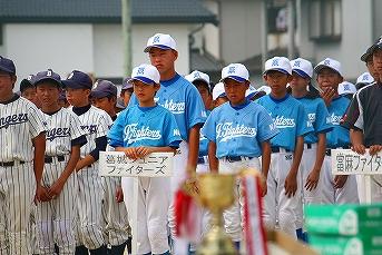 20130630第9回葛城市内少年野球大会開会式 (37)