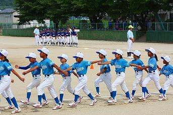 20130630第9回葛城市内少年野球大会開会式 (16)
