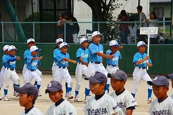 20130630第9回葛城市内少年野球大会開会式 (6)