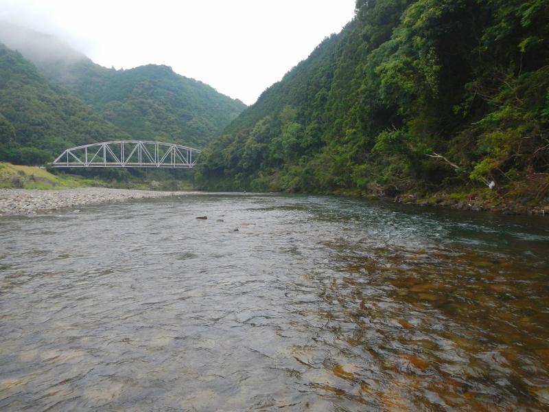 2013年6月9日の古座川の様子