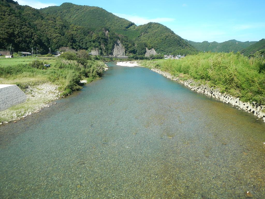 古座川の風景