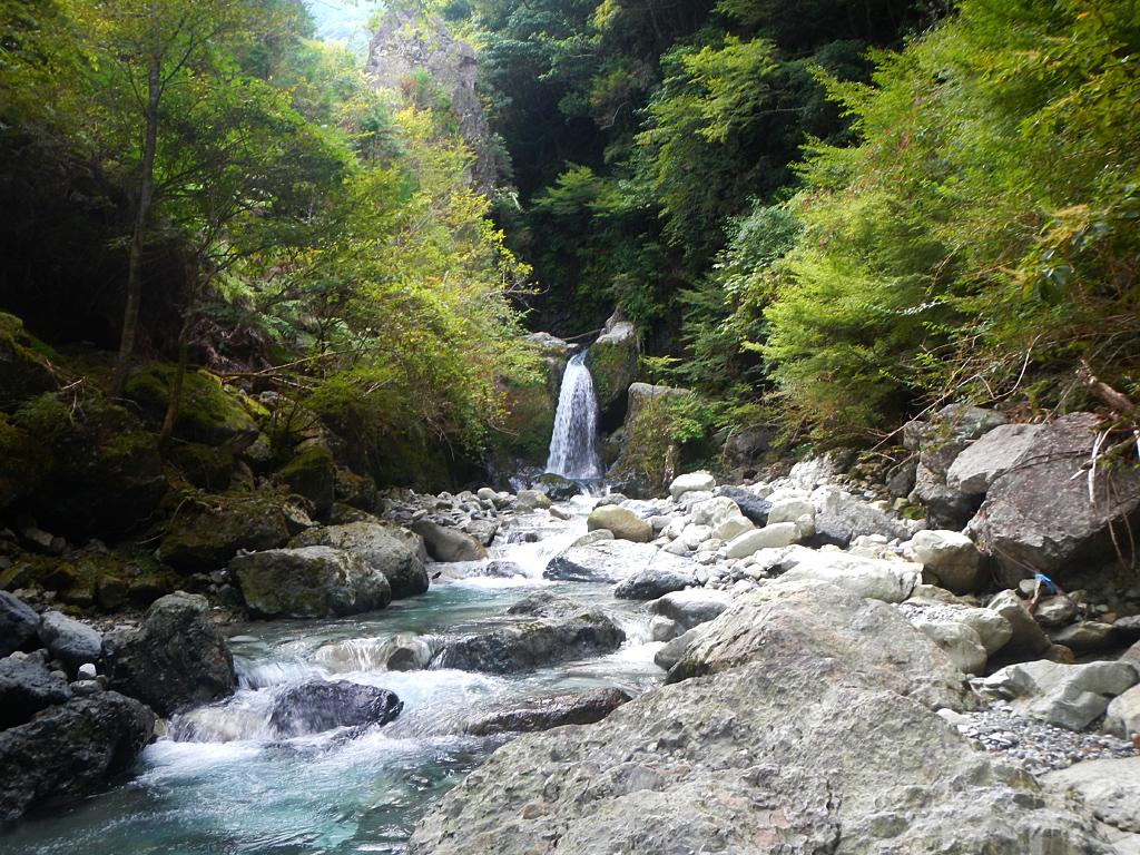 古座川上流