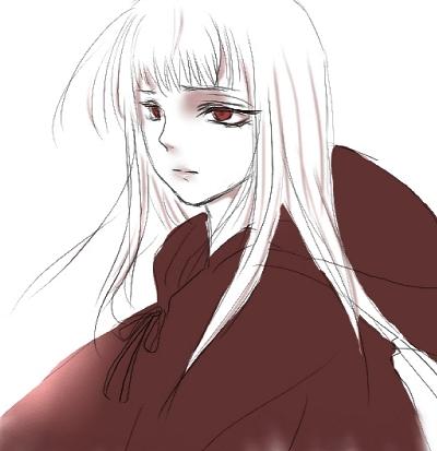 白い髪の娘2S