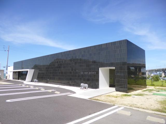 なぞの小さな美術館 Eco land galleryです
