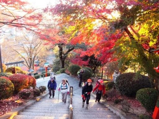 織姫神社へ